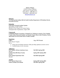 Sample Criminal Justice Resumes Criminal Justice Resumes Under Fontanacountryinn Com