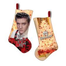 <b>Merry</b> Christmas <b>Elvis Presley</b> Stocking - Graceland Official Store