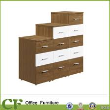 wooden office storage. Drawers Combination Wooden Cabinet For Office Storage CF-Ca229