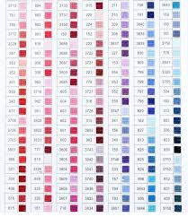 Free chore chart template that can be customized before you print. Diamond Painting Color Charts Shimmer Stitch