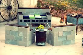 cinder block furniture. top 11 diy patio ideas cinder block furniture backyard