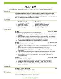 Fresh Best Marketing Cv Samples Marketing Resume Sample Pdf