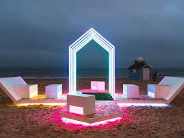 Michael Grubb Lighting Arts By The Sea Festival