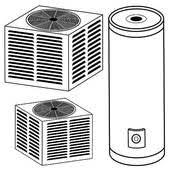 central air conditioner clipart.  Air Air Conditioner Water Heater And Conditioner To Central Clipart R