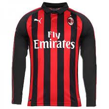 - 18 Shirt Sleeve Long Ac Soccerlord 19 Milan Home Football fabbffeaaceacc|Mike Bell Jersey Saints