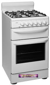 Oven Gas Stove Gbc5266wng Chef Gas Upright Stove The Electric Discounter
