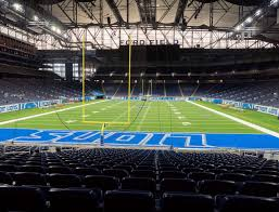 Ford Field Section 117 Seat Views Seatgeek