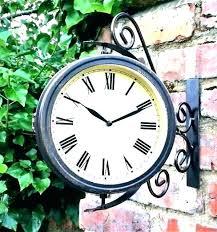 outdoor wall clocks large outdoor wall clock outdoor wall clocks outdoor garden clocks outside clocks garden outdoor wall clocks