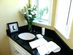 bathroom ideas with black granite countertops backsplash home inspirations extraordinary