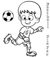 Coloring Pages Soccer Coloring Pages Ronaldo Page Colouring Free