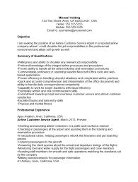 Ideas Collection Airline Ramp Agent Sample Resume Templates No