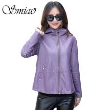 smiao 2018 autumn pu leather jacket women winter plus size loose long sleeve motorcycle leather jacket outerwear coat tops 3xl malaysia