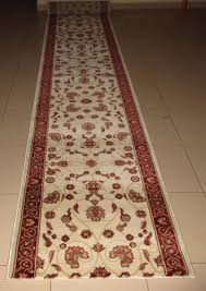 persian design hallway runner