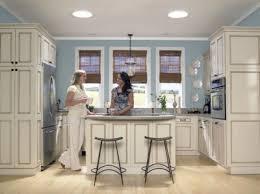 small kitchen design ideas. Small Kitchen With Velux Sun Tunnel Skylights Design Ideas