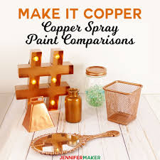 copper spray paint comparison test what is the best metallic copper spray paint for metal