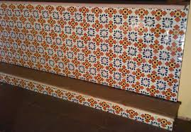 Mexican Tile Kitchen Mexican Ceramic Frost Proof Tile Polanco