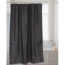 Black shower curtains Elegant Black Quickview Black Wayfair Black Shower Curtains Youll Love Wayfair