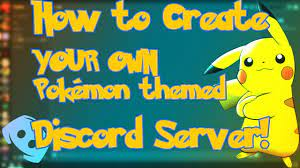 How to create YOUR OWN Pokemon Sword and Shield Themed Discord server!    INCLUDES PokeCord Setup! - YouTube