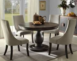 breathtaking 42 inch round pedestal dining table 7 color