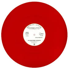 THE BROTHERS JOHNSON STRAWBERRY LETTER 23 RED VINYL b
