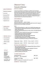 executive director resume  management  example  sample  job    buy this resume