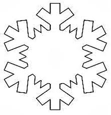 Snow Templates Printable Snowflake Templates To Get You Through Any Snow Day Sheknows