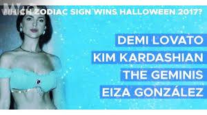 Which Zodiac Sign Wins Halloween 2017? Demi Lovato as Selena ...