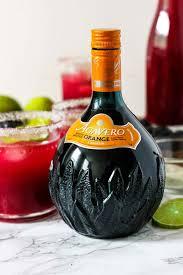 blackberry margaritas with agavero