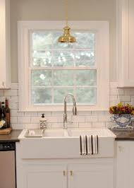Kitchen: Luxury Oull Sink Faucet Ceramic Backsplash Floral Marble ...