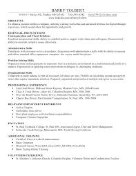 Standard Office Equipment List Resume Computer Skills Examples List Of Basic To Put On Mmventures Co
