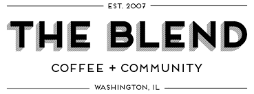 Image result for the blend coffee logo
