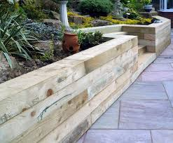 Small Picture Using Oak Sleepers in Landscaping Sussex Oak Restoration Materials