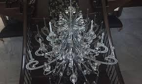load tested chandelier