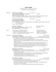 100 System Engineering Resume Astounding Catchy