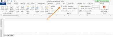Apa Formatting For Word 2013 Ashford Writing Center