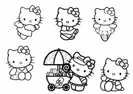 Disegni Da Stampare Hello Kitty Migliori Pagine Da Colorare