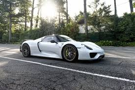 918 spyder white. porsche 918 spyder on the road white a