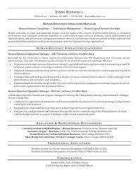 Human Resource Sample Resume Powerful Human Resources Resume