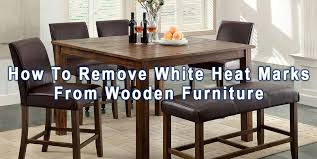 if you ve ever owned a wooden dinner table you re probably familiar with these white stains that seemingly appear out of nowhere if you re able to connect
