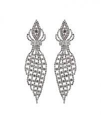 statement chandelier prom earrings