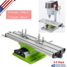 details about multifunction milling machine cross sliding table vise for diy lathe bench drill