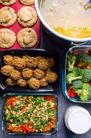 Weekly Lunch Prep Weekly Meal Prep Ifoodreal Healthy Family Recipes