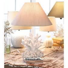 beach theme lighting. Image Is Loading TABLE-LAMP-White-Coral-Sculpture-Beach-Theme-40- Beach Theme Lighting N