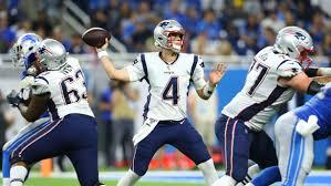 Patriots Chart Patriots Quarterback Depth Chart With Tom Brady Injury