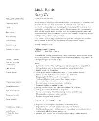 responsibilities of a nanny for resumes nanny responsibilities resume for mmventures co