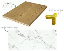 diy faux marble slab supplies