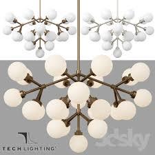 3d models ceiling light mara chandelier