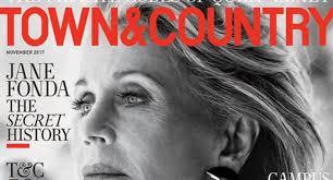 Jane Fonda no Photoshop Town \u0026 Country
