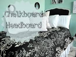 chalkboard headboard @cleverlyinspired (1)