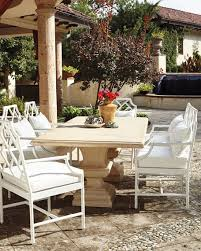 alexandra furniture. Alexandra Outdoor Double-Urn Pedestal Table Furniture
